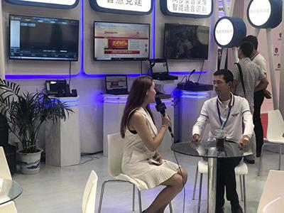 亚讯威视2018全国政法展——中央2电视台对亚讯威视总经理独家采访!