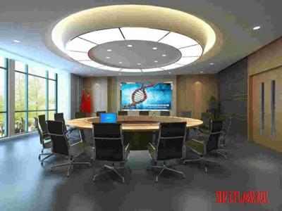 简单的会议室工程