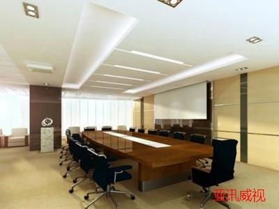 多媒体会议室平面图