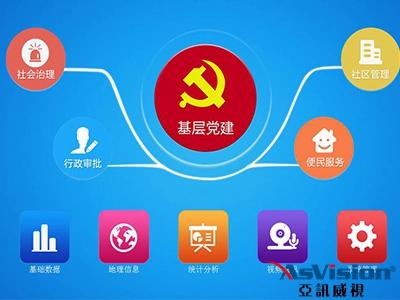 """智慧党建""""同心圆""""激发社区治理新活力"""