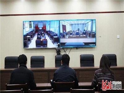 河北邢台市智慧党建可视化平台