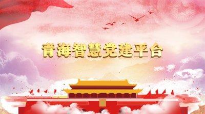 青海智慧党建平台,青海省智慧党建平台