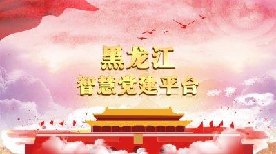 黑龙江智慧党建平台 黑龙江省智慧党建平台