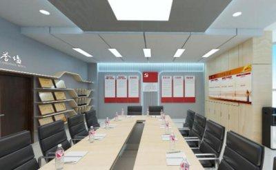 智慧党建展厅可以这样设计,党建展厅设计方案